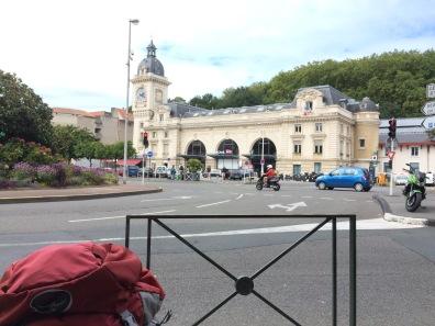 Bahnhof von Garonne