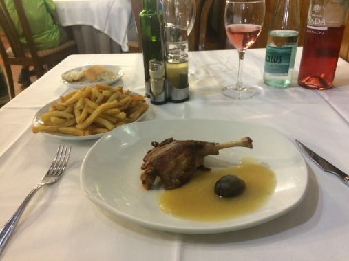 Abendessen in Roncesvalles